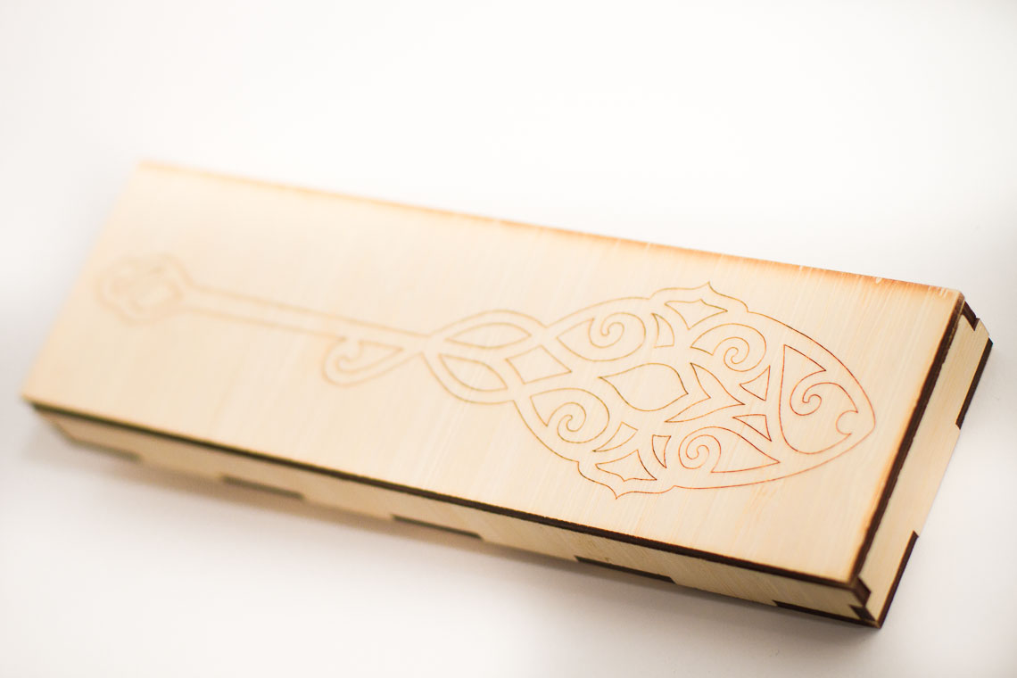 Pen and Process: Absinthe Spoon in Bamboo Box